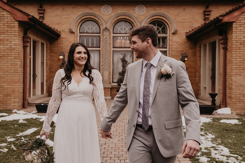Bride and groom at Victoria Wedding Chapel in Waterford, Michigan. Plant-based food, intentional living, & little bits of my life here and there.  I am a creative at heart and sharing is what I do, I am so glad you're here!