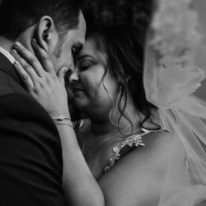 BRENDA + CHAD | HERITAGE GARDENS INTIMATE CEREMONY |  METRO DETROIT WEDDING PHOTOGRAPHER
