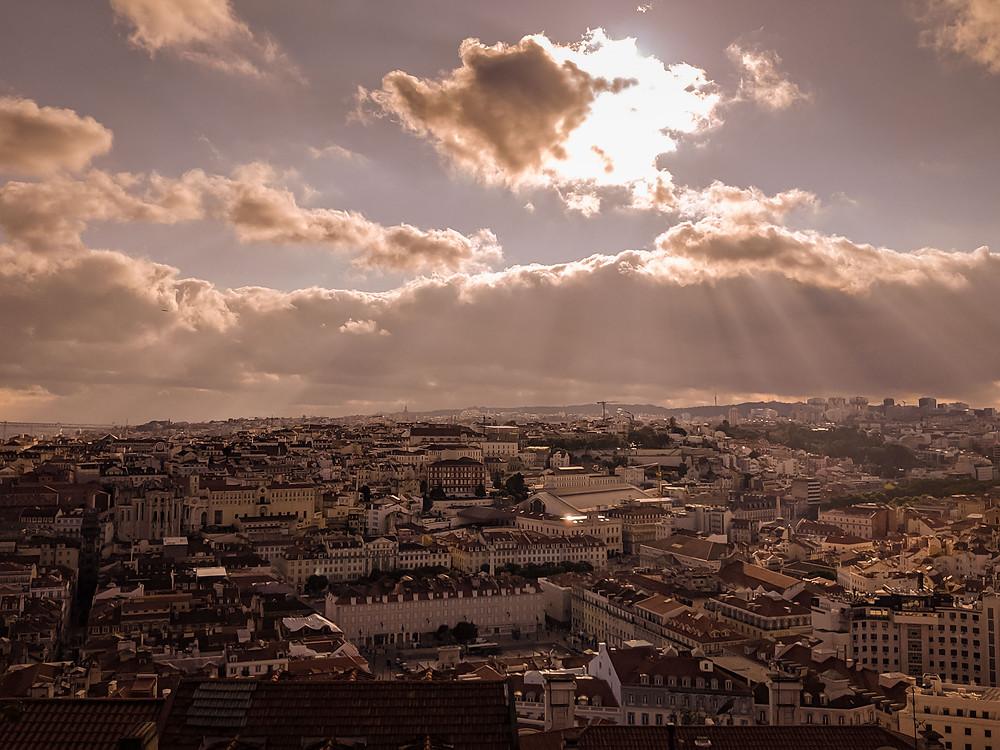 Lisbon landscape photography. Photographed by Nicole Leanne Photography.