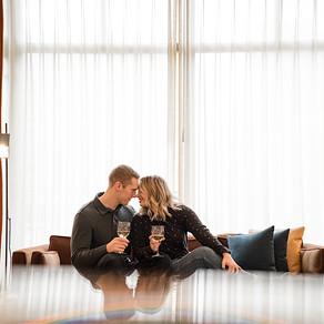 CELEBRATION OVER SORROW // SHINOLA HOTEL // LIFESTYLE COUPLE SESSION