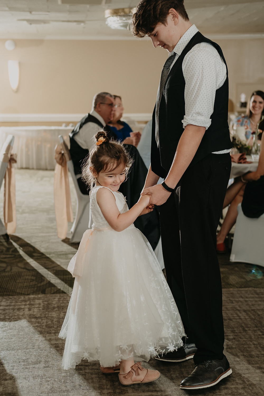 Wedding dance floor candids. Photographed by Nicole Leanne Photography.