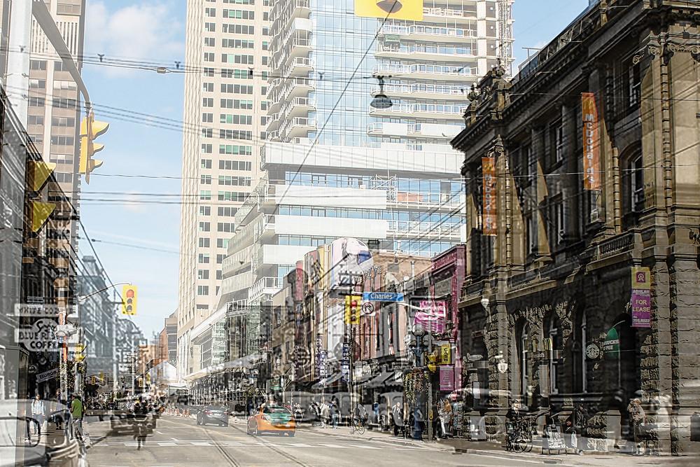 Yonge and Charles Street, Toronto, Ontario