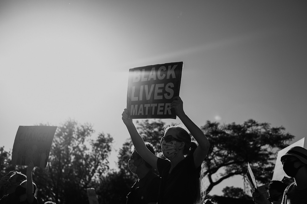 Black Lives Matter protest. Photographed by Nicole Leanne Photography.