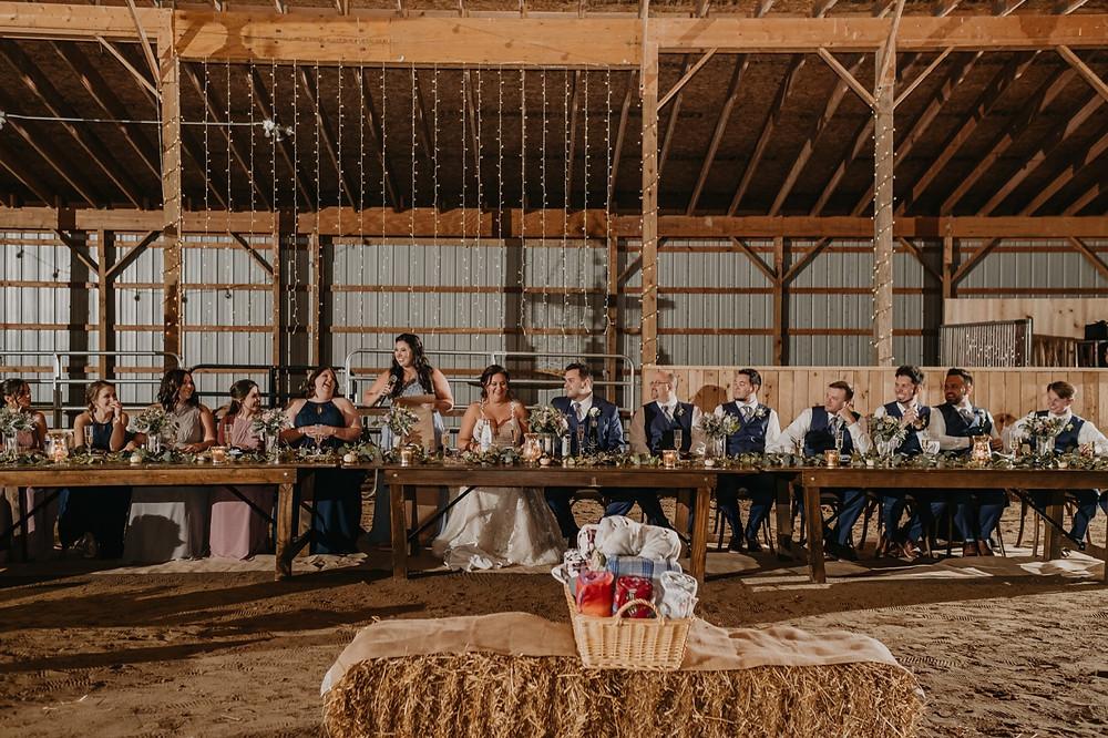 Allentown Michigan barn wedding