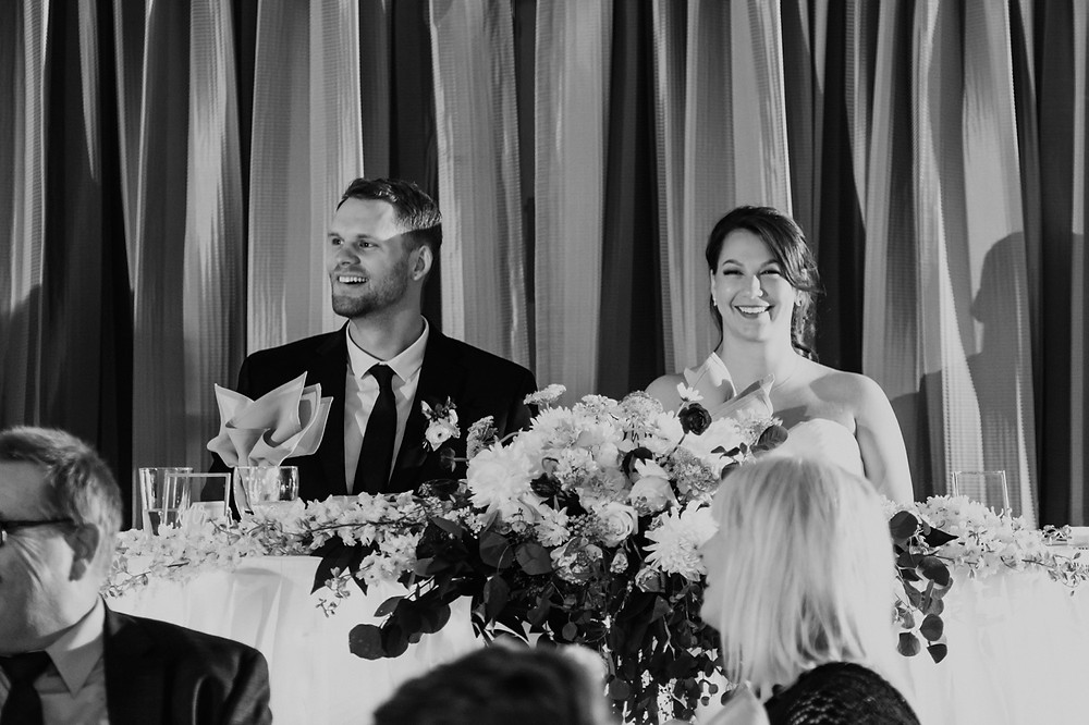 Wedding day candids of bride and groom. Photographed by Nicole Leanne Photography.
