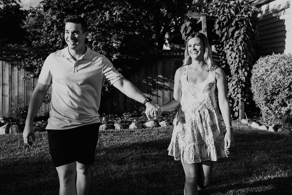 Home wedding celebration in Metro Detroit. Photographed by Nicole Leanne Photography.