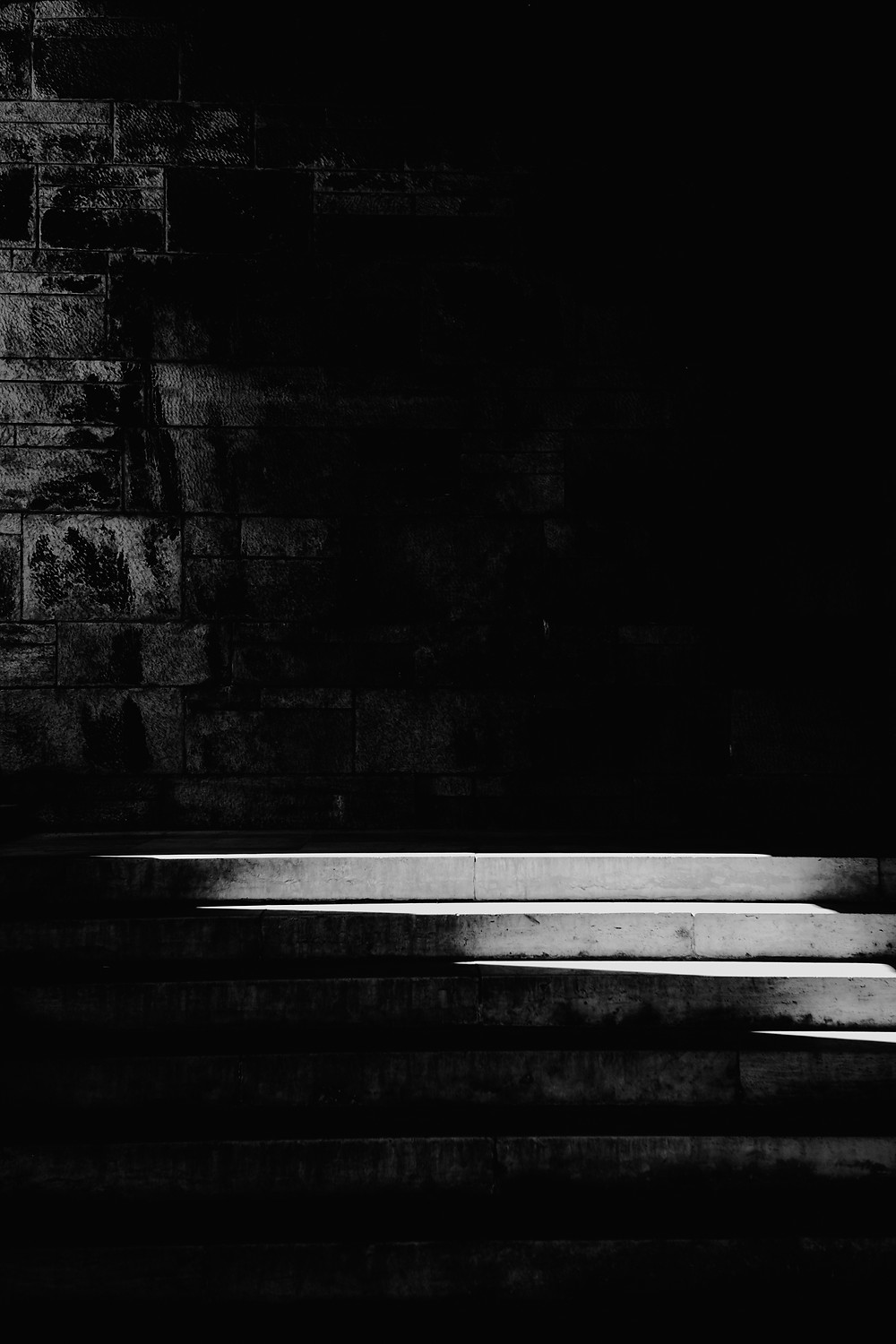 Black and white Budapest stairs. Photographed by Nicole Leanne Photography.