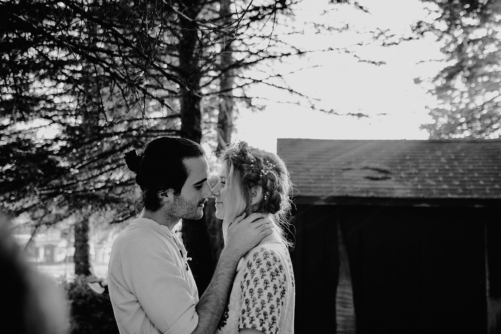 little kisses, bohemian wedding