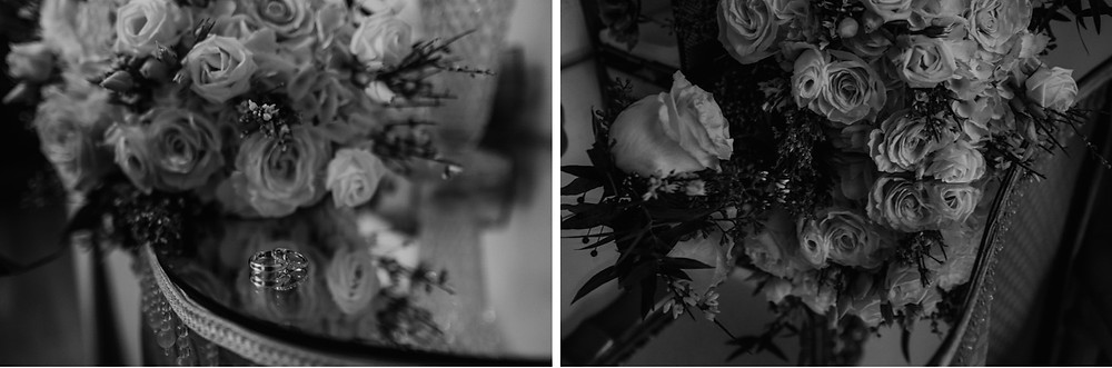 Metro Detroit wedding florals. Photographed by Nicole Leanne Photography