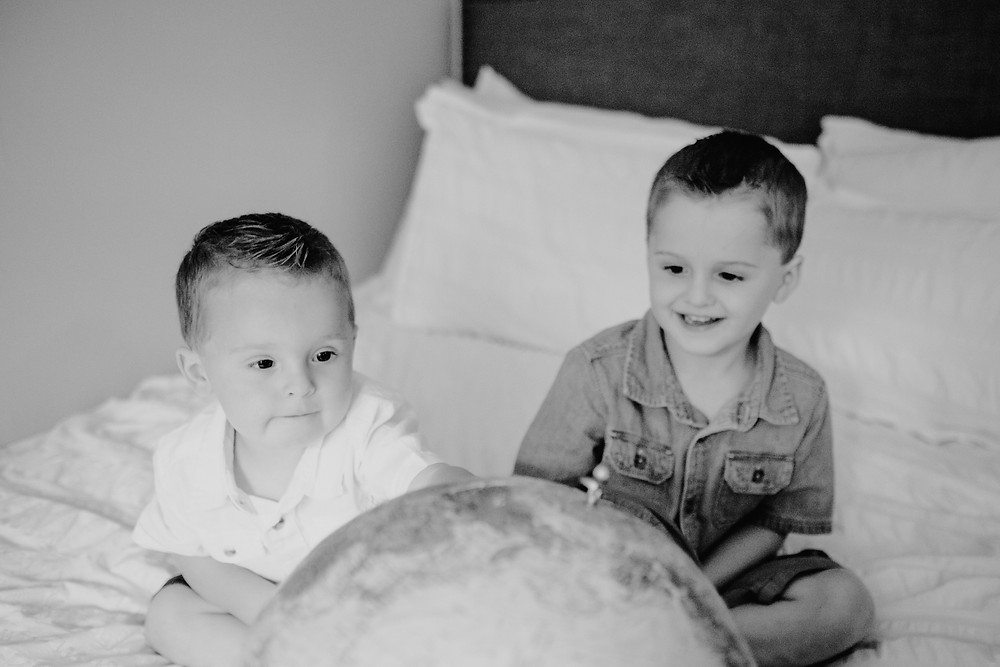 Family lifestyle session. Photographed by Nicole Leanne Photography.