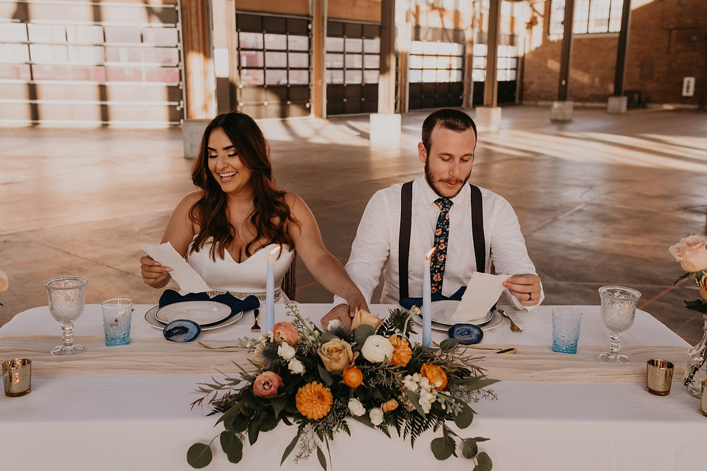 Intimate wedding at Eastern Market in Detroit, Michigan. Photographed by Nicole Leanne Photography.