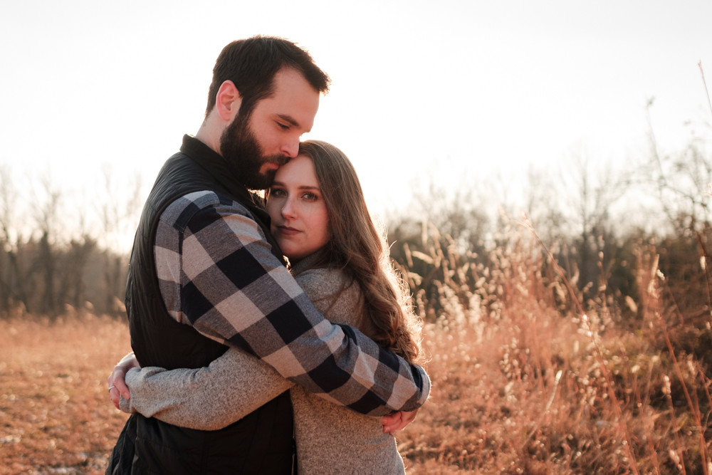 fall engagement photography stony creek