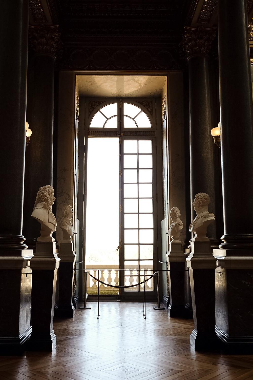 inside Château de Versailles