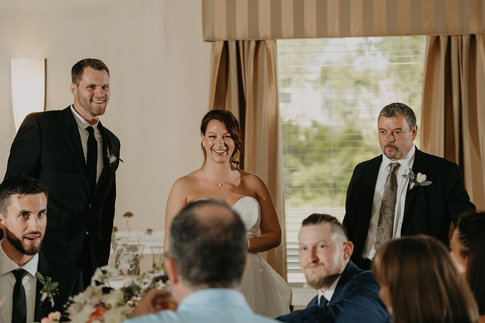 Wedding reception candids at Hellenic Cultural Center. Photographed by Nicole Leanne Photography.