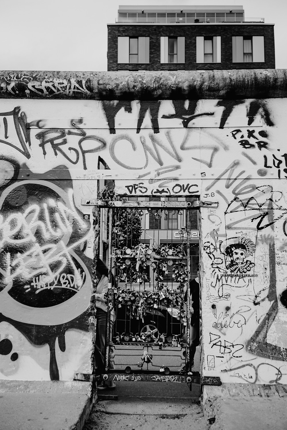 Berlin graffiti and street art. Photographed by Nicole Leanne Photography.