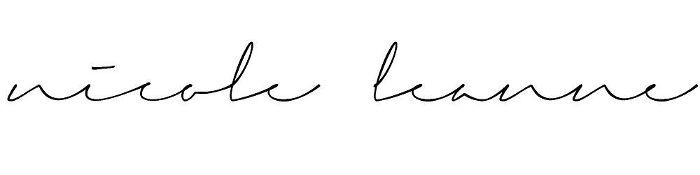 Nicole Leanne Photography signature
