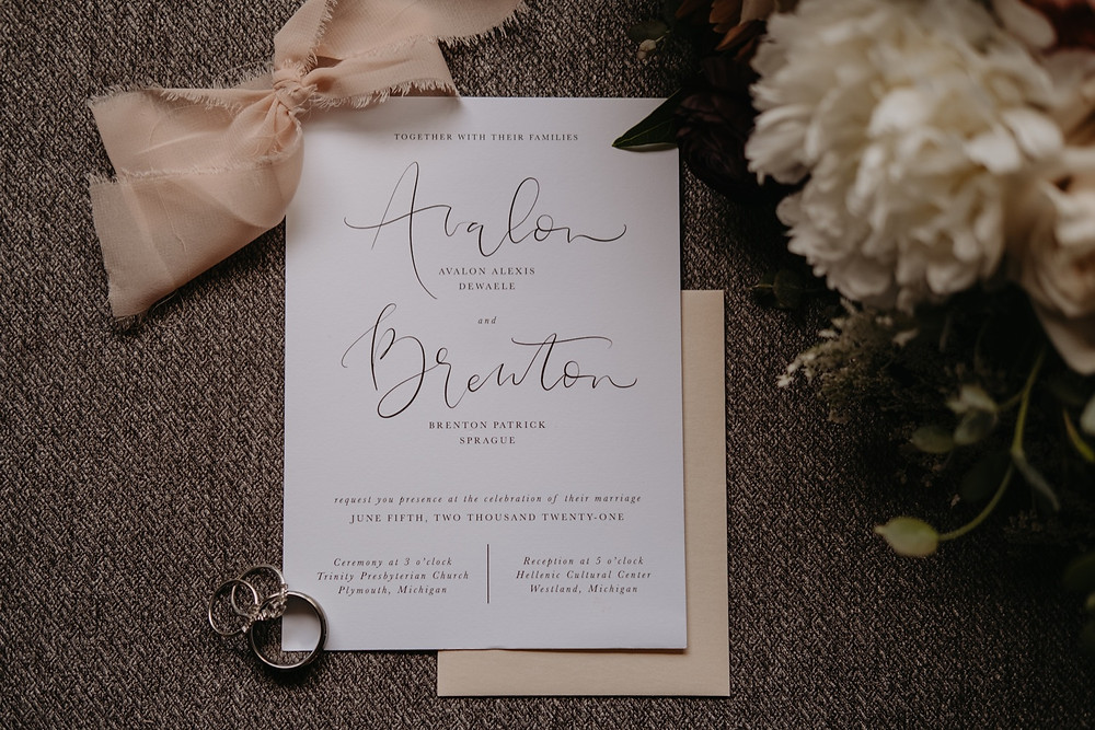 Wedding stationary and details. Photographed by Nicole Leanne Photography.