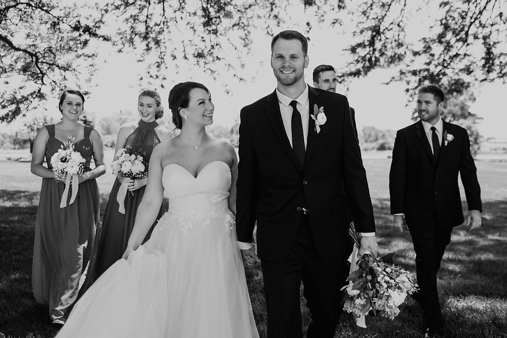 Lifestyle wedding photography photographed by Nicole Leanne Photography.