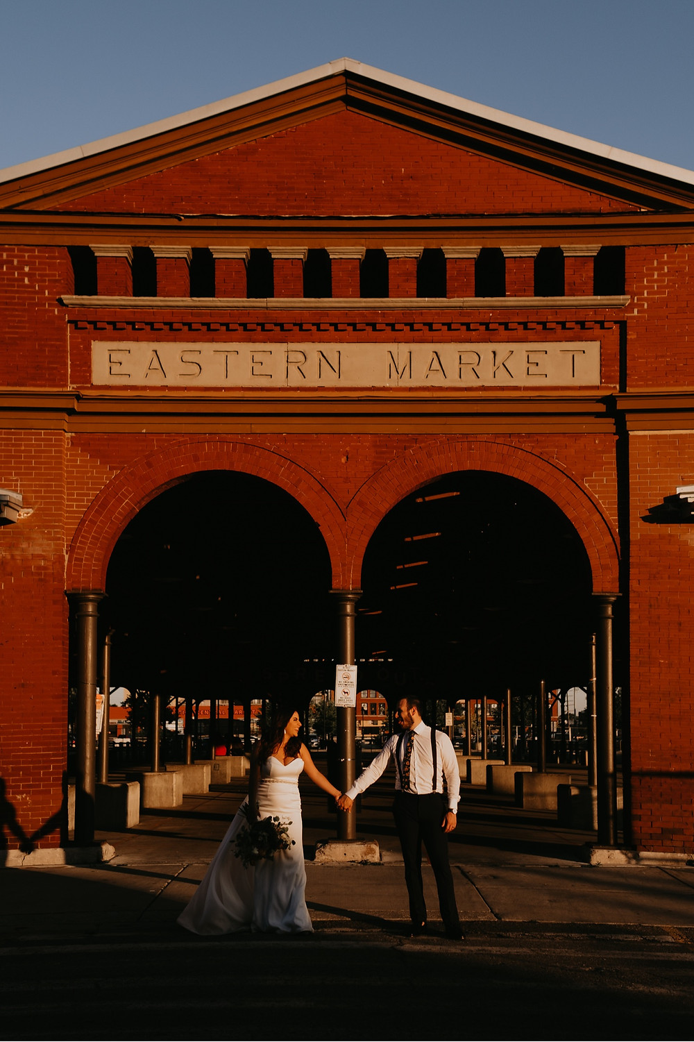 Eastern Market in Detroit, Michigan. Photographed by Nicole Leanne Photography.