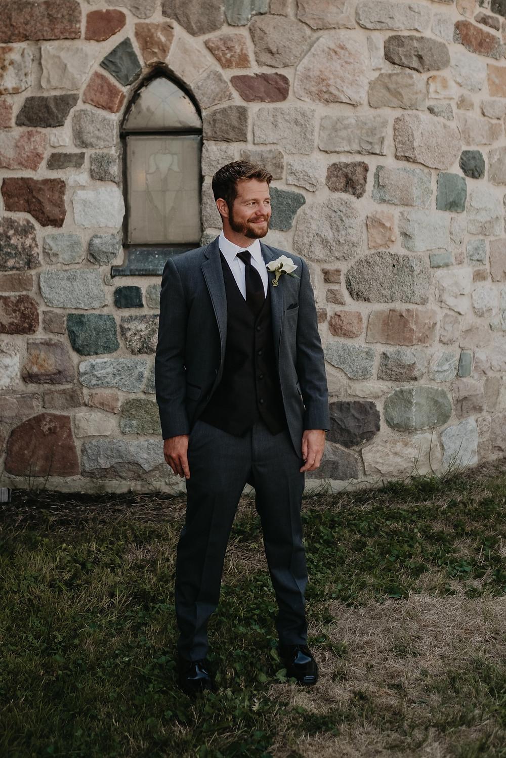 Metro Detroit groom portrait. Photographed by Nicole Leanne Photography.