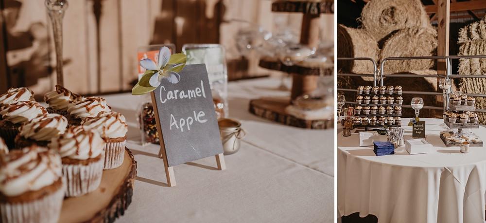 Metro Detroit wedding dessert table