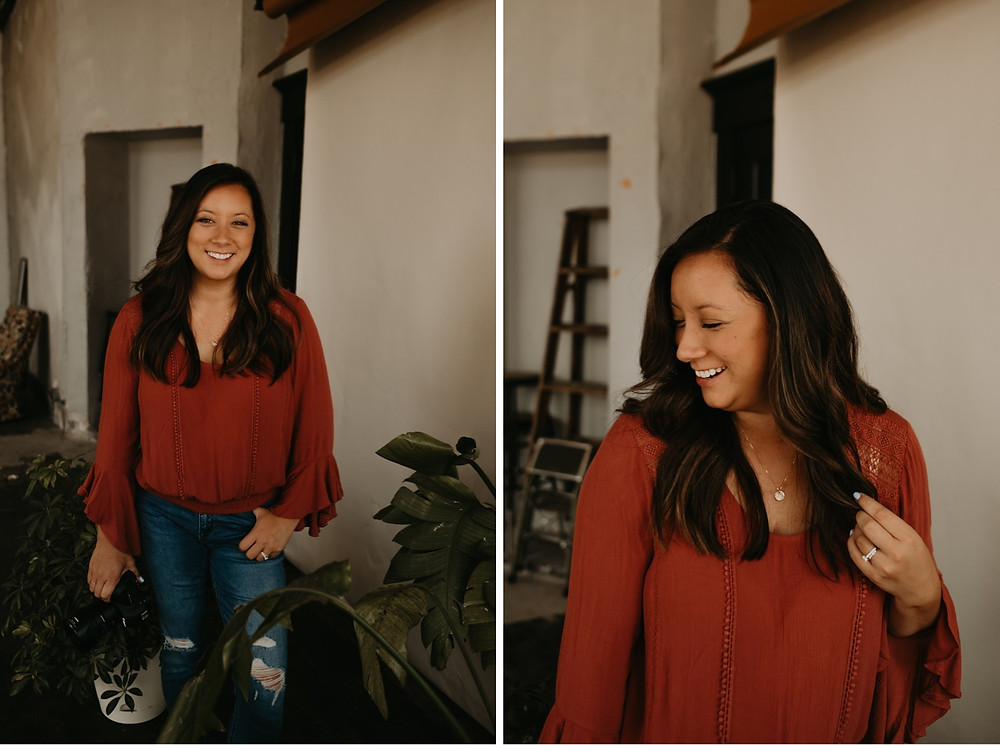 Brand headshots of KJK Photographs. Photographed by Nicole Leanne Photography