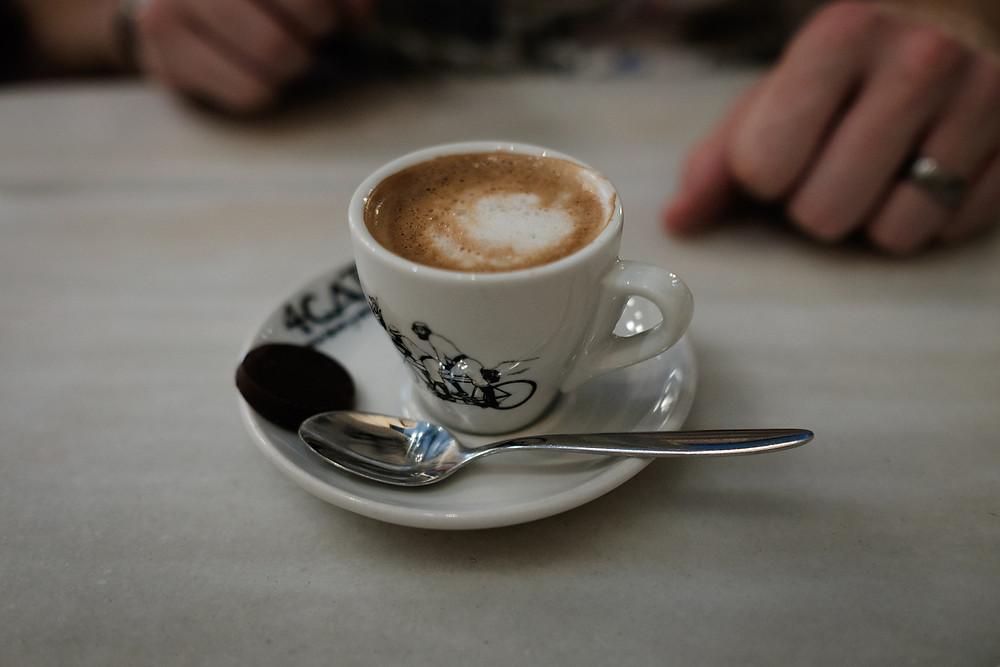 coffe at Quatre Gats café, barcelona