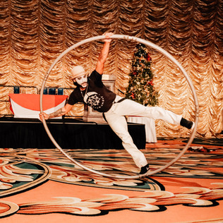 Tampa Cyr Wheel and Cirque Performers -  Corporate Entertainment
