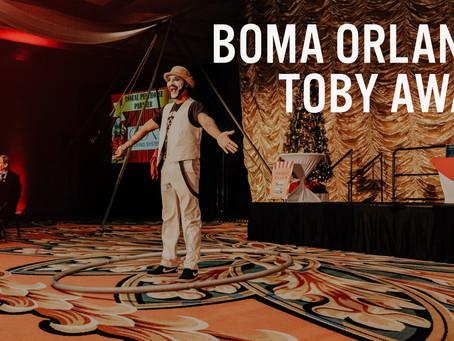 BOMA Orlando's Toby Awards | Bay Breaks Entertainment