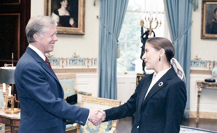 President_Jimmy_Carter_and_Ruth_Bader_Gi
