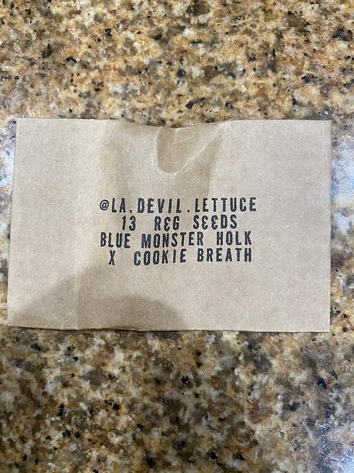 Blue Monster Holk x Cookie Breath