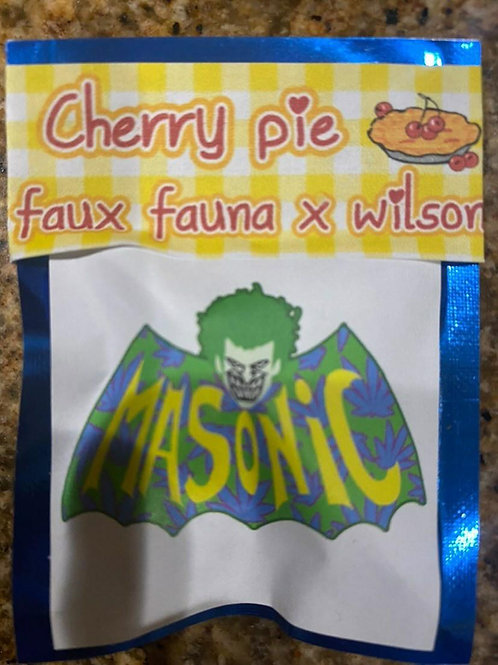 Cherry pie faux fauna x wilson