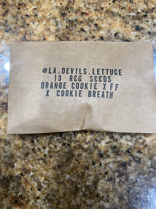 Orange Cookie x FF x Cookie Breath