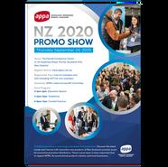 APPA NZ Promo Show 2020 Flyer