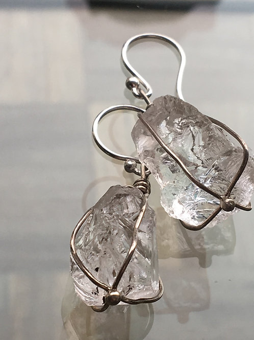 Pure Ice Cube Earrings