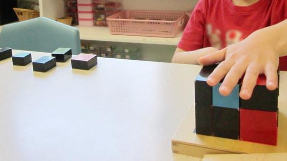 Montessori Monday: The Trinomial Cube