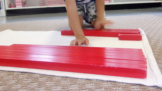 Montessori Monday: The Red Rods