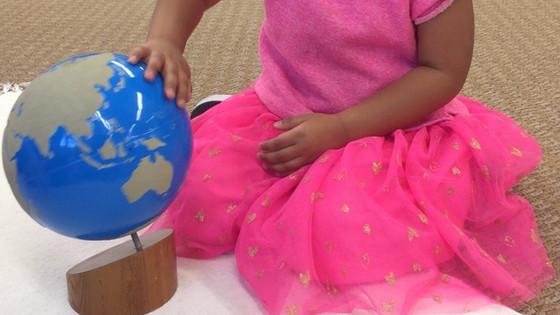 Montessori Monday: The Globes