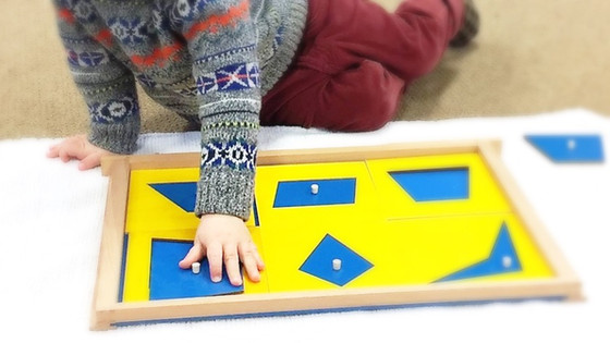 Montessori Monday: The Geometric Cabinet