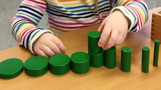 Montessori Monday: The Knobless Cylinders