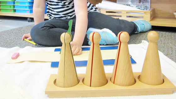 Montessori Monday: The Fraction Skittles