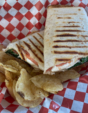 Grilled Caprese Wrap