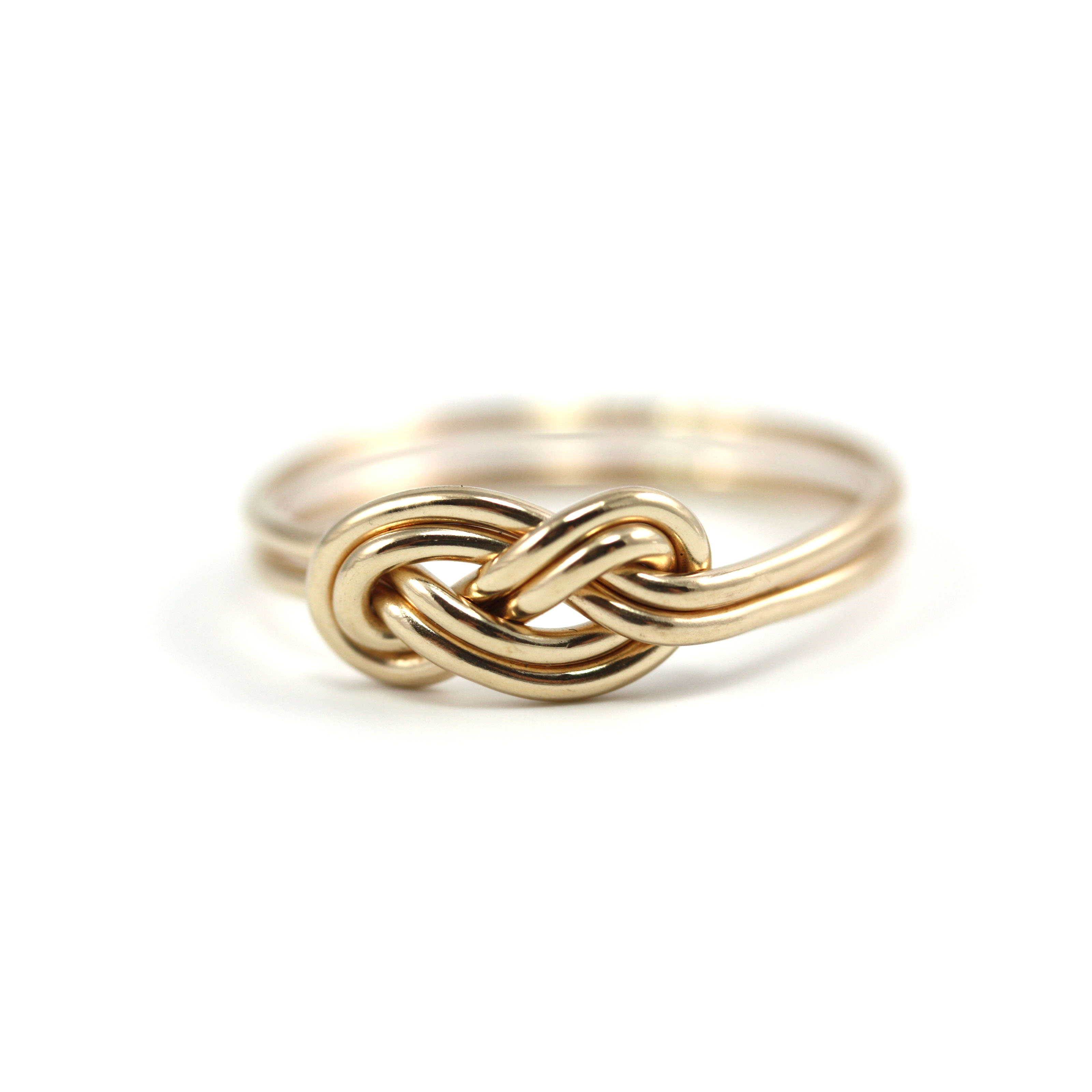 Double Infinity Knot Ring Jenleddystudios