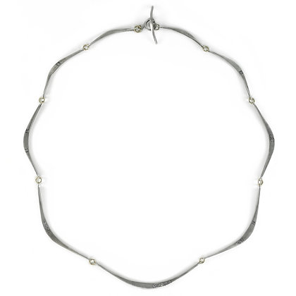 Forged Linked Bar Neck Piece