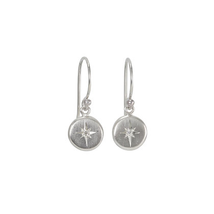 North Star Diamond Dangles