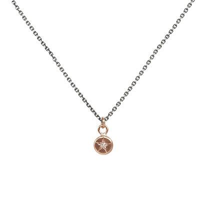 Petite Star Set Diamond Necklace
