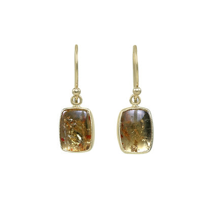 Juicy Imperial Topaz Dangles