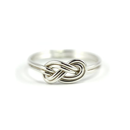 Double Infinity Knot Ring