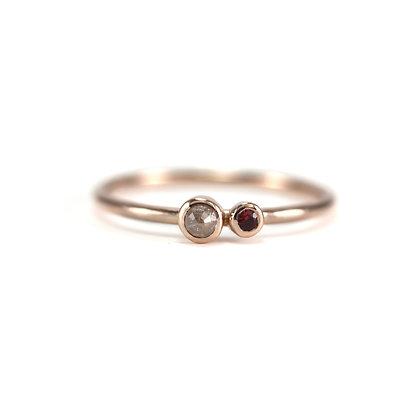 Double Bezel Ring