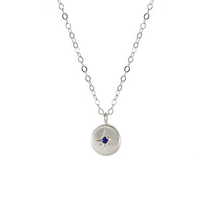 North Star Gemstone Necklace